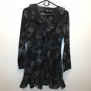 Black Boohoo Dress, Size 8US